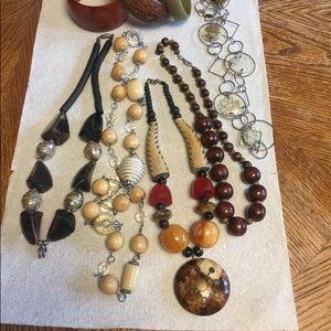 Bundle tribal ethnic boho chunky jewelry